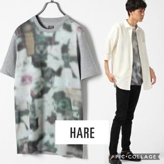ハレ(HARE)の【 HARE 】ロックシェイドオフプリント 半袖Tシャツ(Tシャツ/カットソー(半袖/袖なし))