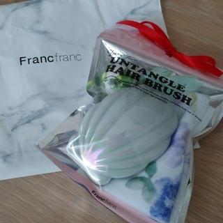 フランフラン(Francfranc)の新品未使用 フランフラン Francfranc(ヘアブラシ/クシ)
