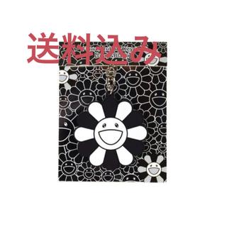 Flower Rubber Keyring Gray&Black 村上隆(キーホルダー)