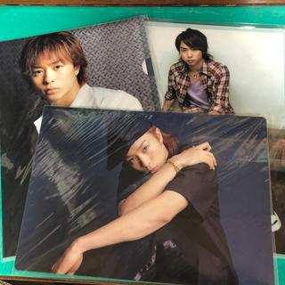 アラシ(嵐)の嵐 櫻井翔 コンサートグッズ 下敷き+クリアファイル3枚セット(アイドルグッズ)