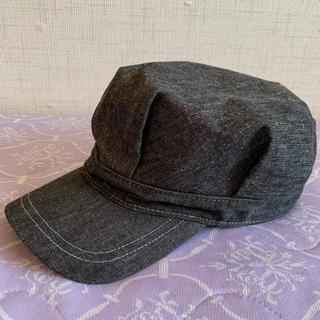 ディーゼル(DIESEL)の【美品】デニムキャスケット帽(キャスケット)