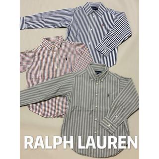 Ralph Lauren - ラルフローレン 長袖シャツ 3点セット 100 110