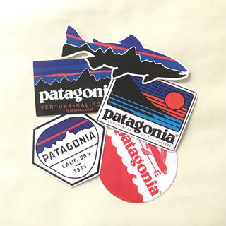 Patagonia  防水ステッカー 5枚セット(その他)