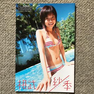 ショウガクカン(小学館)の相武紗季ミニ写真集 ヤングサンデー2005 NO.22.23特別付録(女性タレント)