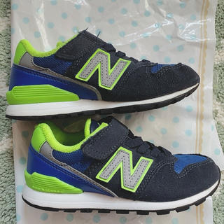 New Balance - ニューバランス 17.5 子供 スニーカー 男の子 996