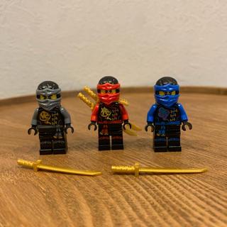 Lego - LEGO レゴ ニンジャゴー ミニフィグ 3体
