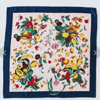 トゥモローランド(TOMORROWLAND)のマニプリ 未使用 manipuri スカーフ フルーツ柄 (バンダナ/スカーフ)