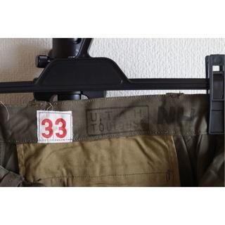 マルタンマルジェラ(Maison Martin Margiela)のスペシャル 33サイズ デッドストック M47 後期 カーゴパンツ フランス軍(ワークパンツ/カーゴパンツ)