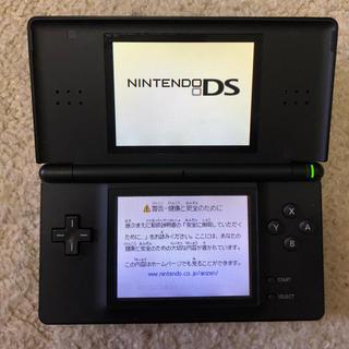 ニンテンドーDS(ニンテンドーDS)のニンテンドーDS Lite本体(ブラック)(携帯用ゲーム機本体)
