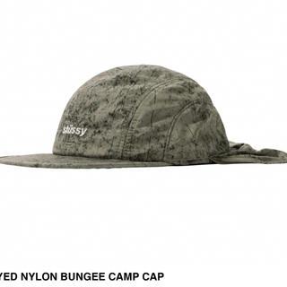 ステューシー(STUSSY)のDYED NYLON BUNGEE CAMP CAP(キャップ)
