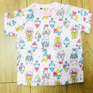 アンパンマン(アンパンマン)のアンパンマン 蓄光 Tシャツ 80(Tシャツ)