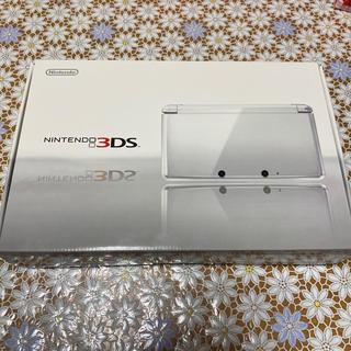 ニンテンドー3DS - 【美品】Nintendo 3DS 本体 アイスホワイト