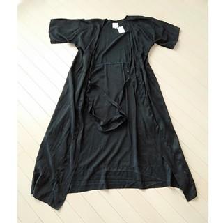 ソウソウ(SOU・SOU)のsousou絹 羽織ロング丈(ロングワンピース/マキシワンピース)