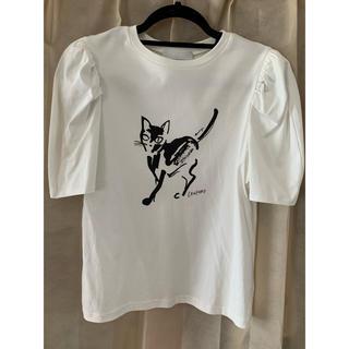 フレイアイディー(FRAY I.D)の《最終値下げ》CELFORD コラボプリントTシャツ(Tシャツ(半袖/袖なし))