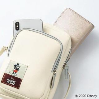 ミッキーマウス - InRed付録 ミッキーマウス ショルダーバッグ