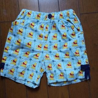 クマノプーサン(くまのプーさん)の子供プーさん柄   半ズボン サイズ70(パンツ/スパッツ)