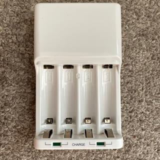 ムジルシリョウヒン(MUJI (無印良品))のニッケル水素電池専用充電器 無印良品(muji)(バッテリー/充電器)