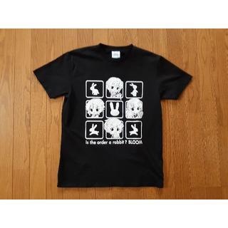 シマムラ(しまむら)のLサイズ ごちうさ黒Tシャツ(Tシャツ/カットソー(半袖/袖なし))