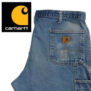 カーハート(carhartt)の【Carhartt】ビッグサイズ ワイドデニムパンツ 40×30 A015(デニム/ジーンズ)