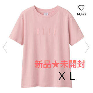 GU - 【新品★未開封】gu✖ELLEコラボ 人気Tシャツ★XL