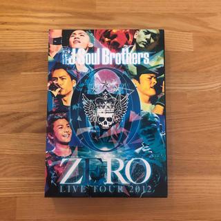 サンダイメジェイソウルブラザーズ(三代目 J Soul Brothers)の三代目Jsoul brothers ZERO LIVE TOUR 2012(音楽/芸能)