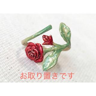 カオリノモリ(カオリノモリ)のパルナートポック 薔薇 リング(リング(指輪))