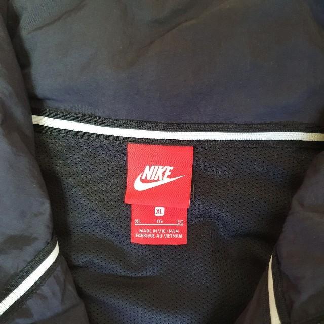 NIKE(ナイキ)のNIKEのビックスウォッシュナイロンジャケット メンズのジャケット/アウター(ナイロンジャケット)の商品写真
