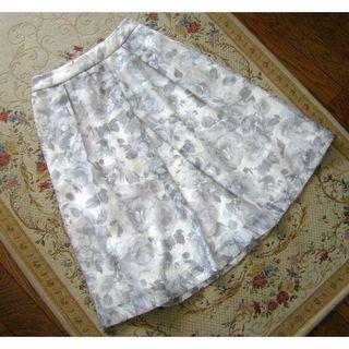 テチチ(Techichi)のTechichi テチチ オーガンジー花柄プリントスカート Mサイズ(ひざ丈スカート)