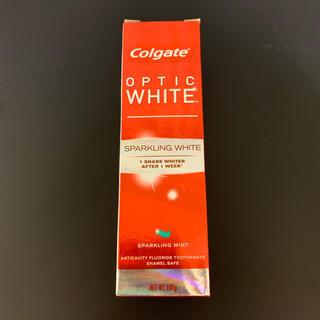 Colgate optic white(歯磨き粉)