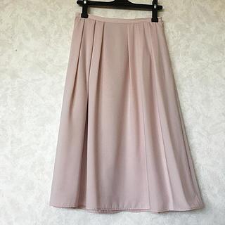 エヌナチュラルビューティーベーシック(N.Natural beauty basic)のNATURAL BEAUTY BASIC レディース  スカート  ピンクS(ひざ丈スカート)