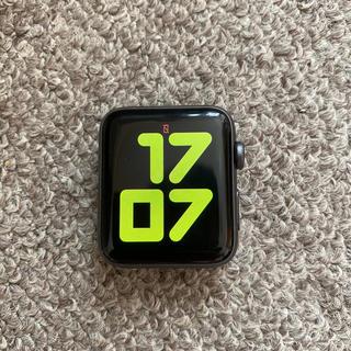 アップルウォッチ(Apple Watch)のアップル Apple Watch Nike+ Series 3   42mm(腕時計(デジタル))