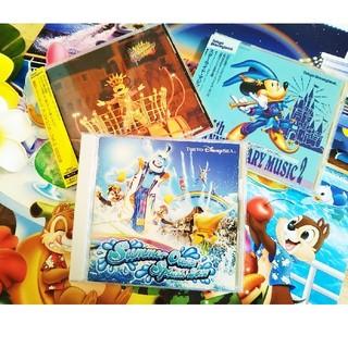 ディズニー(Disney)の【3枚セット】ディズニーTDLサマースプラッシュ、スターライトマジックCD 他(キッズ/ファミリー)
