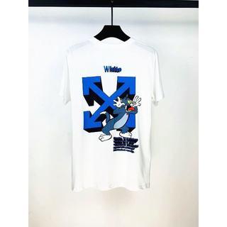 オフホワイト(OFF-WHITE)のオフホワイト Tシャツ 男女兼用2着8000円3着11000円 82B140-1(Tシャツ/カットソー(七分/長袖))