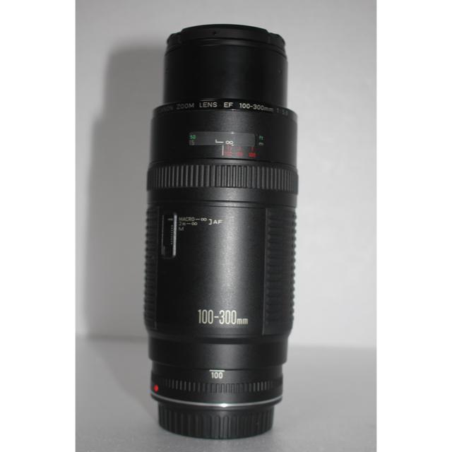 Canon(キヤノン)の超望遠レンズCanon EF100-300❤️イベント、スポーツ❤️大迫力300 スマホ/家電/カメラのカメラ(レンズ(ズーム))の商品写真