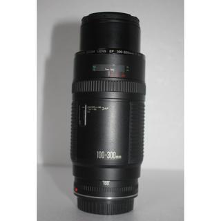 Canon - 超望遠レンズCanon EF100-300❤️イベント、スポーツ❤️大迫力300