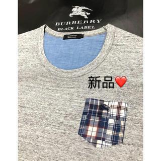 BURBERRY BLACK LABEL - 新品【日本製】バーバリーブラックレーベル Tシャツ2