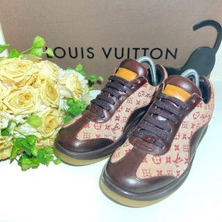LOUIS VUITTON - ◎モノグラム【Louis Vuitton】約23.5cm スニーカー 運転 女性