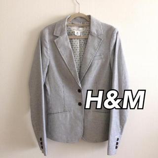 エイチアンドエム(H&M)の【新品】H&M♥️エイチアンドエム ストライプ ジャケット ビジネス オフィス(テーラードジャケット)