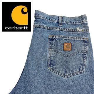 カーハート(carhartt)の【Carhartt】ビッグサイズ ワイドデニムパンツ 40×30 A009(デニム/ジーンズ)