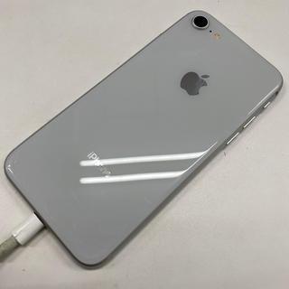iPhone - ドコモ☆中古 iPhone8 256GB SIMロック解除済 シルバー