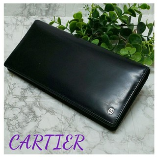 Cartier - ◎決算セール◎ CARTIER カルティエ ブラック 黒 長財布