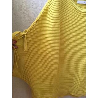 メイソングレイ(MAYSON GREY)の美品 メイソングレイ ニット (カットソー(半袖/袖なし))