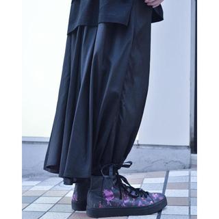ヨウジヤマモト(Yohji Yamamoto)の【希少】カラスパンツ 19ss レーヨン(サルエルパンツ)