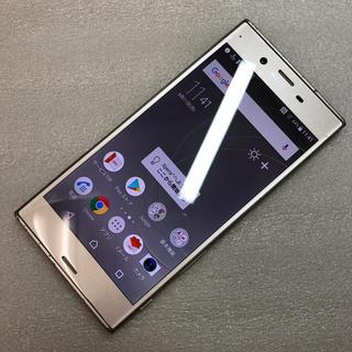 エクスペリア(Xperia)のaki921 SIM FREE Xperia XZs SOV35 ジャンク(スマートフォン本体)