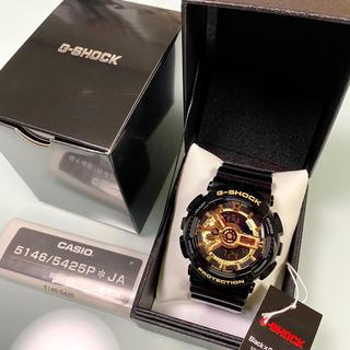 ジーショック(G-SHOCK)の値下げ 新品 CASIO G-SHOCK  GA-110GB 1AJF(腕時計(デジタル))