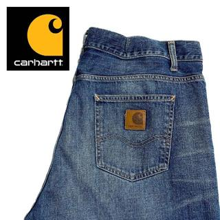 カーハート(carhartt)の【Carhartt】US古着 ワイドデニムパンツ 38×32 ワーク A001(デニム/ジーンズ)