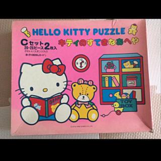ハローキティ(ハローキティ)のHello Kitty Puzzle キティのすてきなおへや パズル(知育玩具)