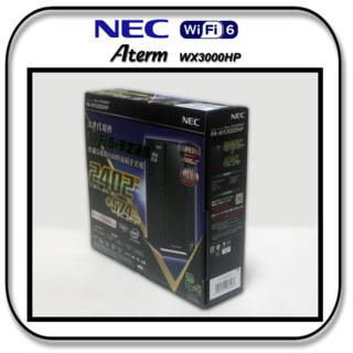 NEC - NEC Wi-Fi6規格 の Wi-Fiルーター WX3000HP