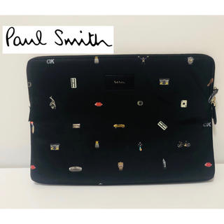 Paul Smith - 【最新モデル】【paul smith】定価4万超え クラッチバッグ 総柄 黒