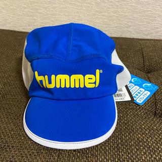ヒュンメル(hummel)のサッカー ジュニアキャップ ヒュンメル ブルー(ウェア)